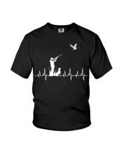 DUCK HUNTING HEARTBEAT Youth T-Shirt thumbnail