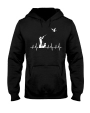 DUCK HUNTING HEARTBEAT Hooded Sweatshirt thumbnail