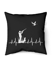 """DUCK HUNTING HEARTBEAT Indoor Pillow - 16"""" x 16"""" thumbnail"""