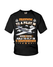 AIRPLANE GIFTS  - DIMENSION OF FLYING Youth T-Shirt thumbnail