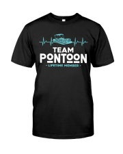 PONTOON BOAT GIFT - PONTOON TEAM Classic T-Shirt front