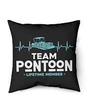 "PONTOON BOAT GIFT - PONTOON TEAM Indoor Pillow - 16"" x 16"" thumbnail"