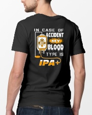 MY BLOOD TYPE IS IPA 2 Classic T-Shirt lifestyle-mens-crewneck-back-5