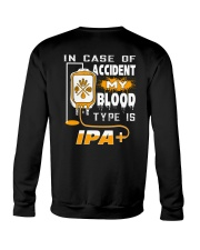 MY BLOOD TYPE IS IPA 2 Crewneck Sweatshirt thumbnail