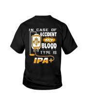 MY BLOOD TYPE IS IPA 2 Youth T-Shirt thumbnail
