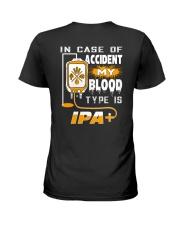 MY BLOOD TYPE IS IPA 2 Ladies T-Shirt thumbnail