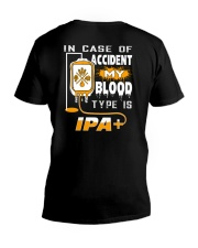 MY BLOOD TYPE IS IPA 2 V-Neck T-Shirt thumbnail