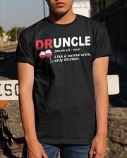 B - DRUNCLE WINE Classic T-Shirt apparel-classic-tshirt-lifestyle-29