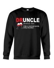 B - DRUNCLE WINE Crewneck Sweatshirt thumbnail