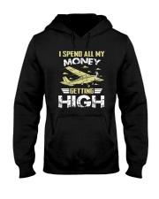 PILOT GIFT - GETTING HIGH Hooded Sweatshirt thumbnail