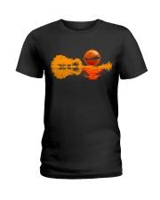 PILOT AVIATION GIFT - REFLECTION  Ladies T-Shirt thumbnail
