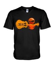 PILOT AVIATION GIFT - REFLECTION  V-Neck T-Shirt thumbnail