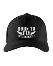 AVIATION RELATED GIFTS - BORN TO FLY Embroidered Hat thumbnail