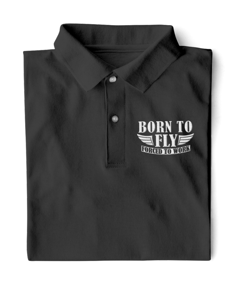 AVIATION RELATED GIFTS - BORN TO FLY Classic Polo