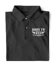 AVIATION RELATED GIFTS - BORN TO FLY Classic Polo front