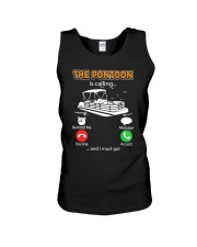 PONTOON BOAT GIFT - THE PONTOON IS CALLING Unisex Tank thumbnail