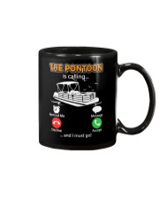 PONTOON BOAT GIFT - THE PONTOON IS CALLING Mug thumbnail
