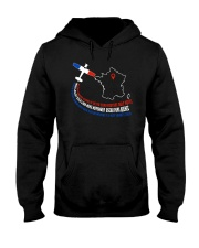 AIRPLANE GIFTS - FRANCE FLAG ALPHABET Hooded Sweatshirt thumbnail