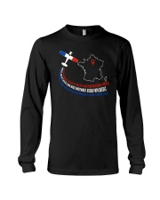 AIRPLANE GIFTS - FRANCE FLAG ALPHABET Long Sleeve Tee thumbnail