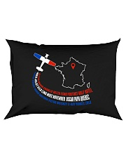 AIRPLANE GIFTS - FRANCE FLAG ALPHABET Rectangular Pillowcase thumbnail