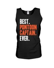 PONTOON BOAT GIFT - BEST PONTOON CAPTAIN EVER Unisex Tank thumbnail