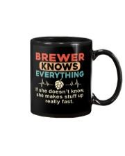 She - A Brewer Knows Everything Mug thumbnail
