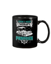PONTOON BOAT GIFT - I DON'T NEED THERAPY Mug thumbnail