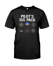 PILOT GIFTS - SIX PACK 2 Classic T-Shirt front