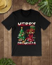 DRUNK SANTA Classic T-Shirt lifestyle-mens-crewneck-front-18