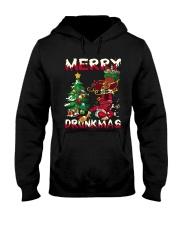 DRUNK SANTA Hooded Sweatshirt thumbnail