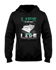 PONTOON BOAT GIFT - LIFE IS BETTER AT THE LAKE Hooded Sweatshirt thumbnail