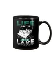 PONTOON BOAT GIFT - LIFE IS BETTER AT THE LAKE Mug thumbnail