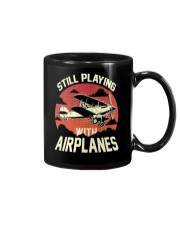 PILOT GIFT - PLAYING WITH AIRPLANES Mug thumbnail