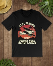 PILOT AVIATION - STILL PLAYING WITH AEROPLANES Classic T-Shirt lifestyle-mens-crewneck-front-18