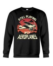 PILOT AVIATION - STILL PLAYING WITH AEROPLANES Crewneck Sweatshirt thumbnail