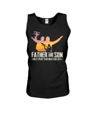 AVIATION RELATED GIFT - FATHER AND SON Unisex Tank thumbnail