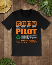 AIRPLANE GIFTS - LABEL DIRECTION WARNING Classic T-Shirt lifestyle-mens-crewneck-front-18
