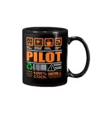 AIRPLANE GIFTS - LABEL DIRECTION WARNING Mug thumbnail