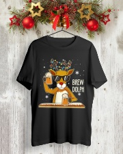 CRAFT BEER AND BREWING - BREW DOLPH Classic T-Shirt lifestyle-holiday-crewneck-front-2