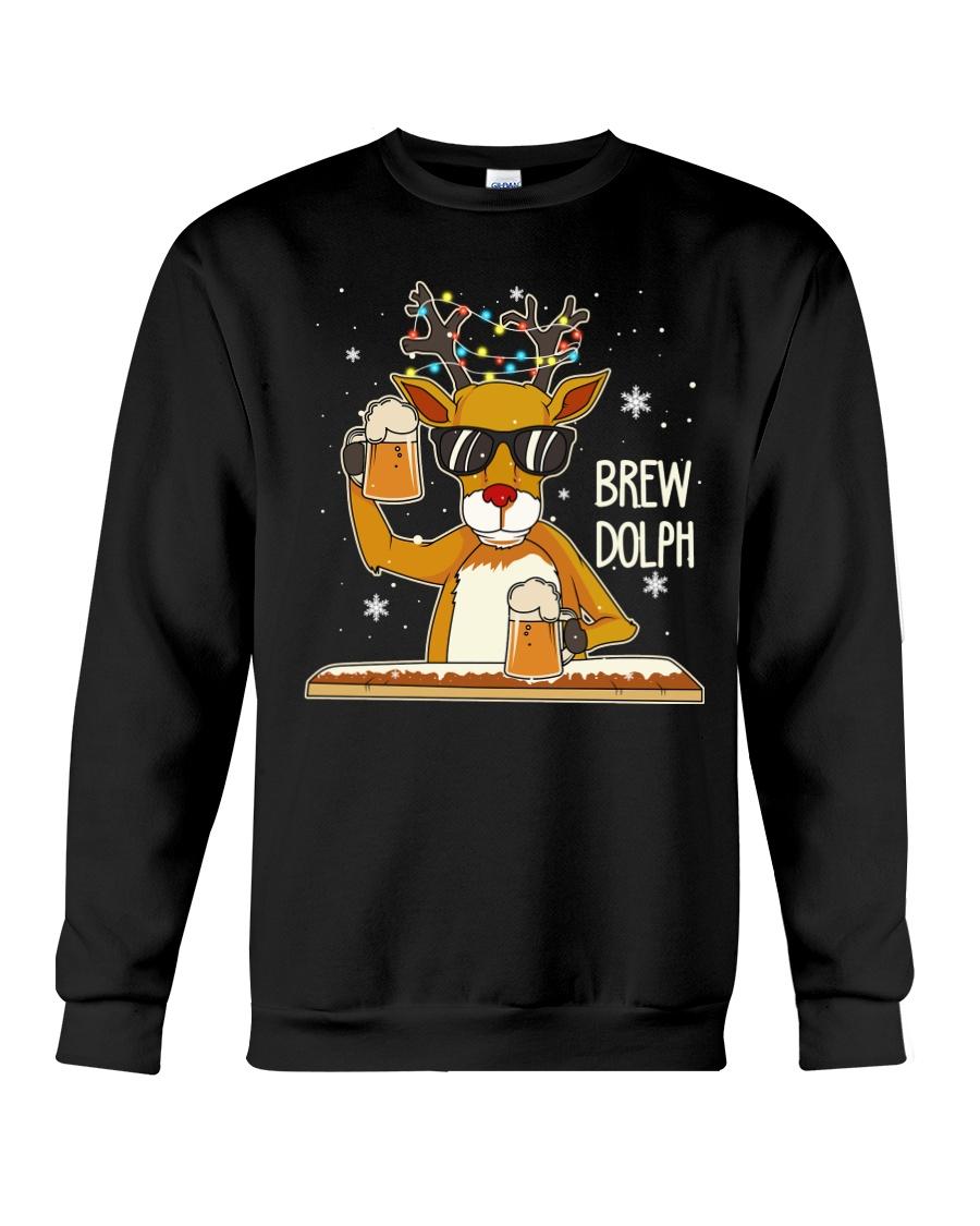 CRAFT BEER AND BREWING - BREW DOLPH Crewneck Sweatshirt