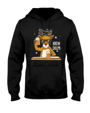 CRAFT BEER AND BREWING - BREW DOLPH Hooded Sweatshirt thumbnail