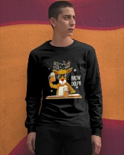 CRAFT BEER AND BREWING - BREW DOLPH Long Sleeve Tee apparel-long-sleeve-tee-lifestyle-04