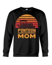 PONTOON BOAT GIFT FOR MOTHER'S DAY - PONTOON MOM Crewneck Sweatshirt thumbnail
