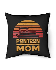 """PONTOON BOAT GIFT FOR MOTHER'S DAY - PONTOON MOM Indoor Pillow - 16"""" x 16"""" thumbnail"""