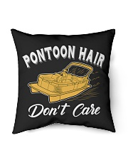 "PONTOON BOAT GIFT - PONTOON HAIR Indoor Pillow - 16"" x 16"" thumbnail"