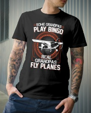 PILOT GIFT - REAL GRANDPAS FLY PLANES Classic T-Shirt lifestyle-mens-crewneck-front-6