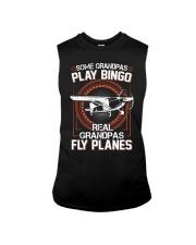 PILOT GIFT - REAL GRANDPAS FLY PLANES Sleeveless Tee thumbnail