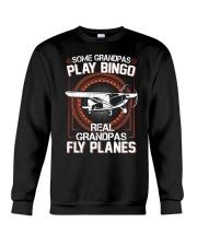 PILOT GIFT - REAL GRANDPAS FLY PLANES Crewneck Sweatshirt thumbnail