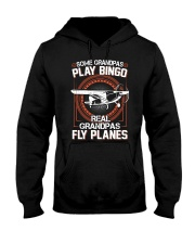 PILOT GIFT - REAL GRANDPAS FLY PLANES Hooded Sweatshirt thumbnail