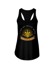 WATER WITH BARLEY AND HOPS  Ladies Flowy Tank thumbnail